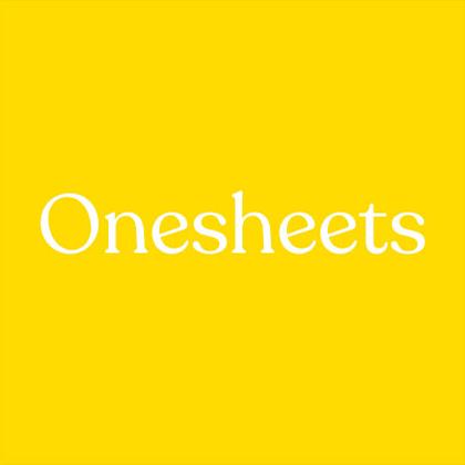 Onesheets